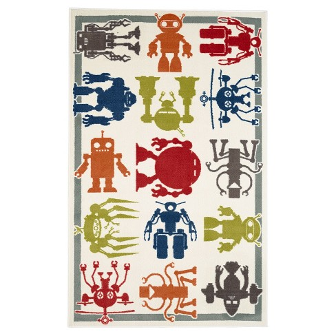Mohawk Robot Army Area Rug (5'x8') - image 1 of 3