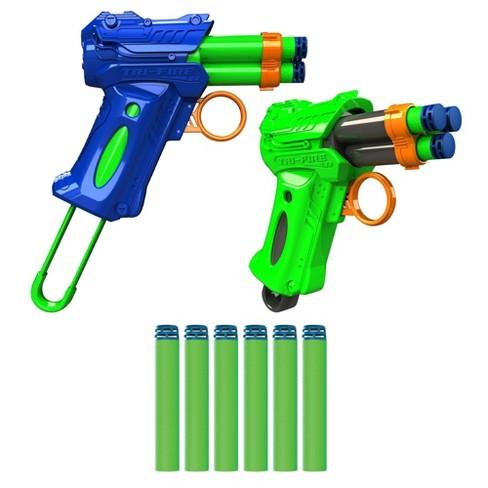 Dart Zone Tri-Fire Auto-Advance Triple-Shot Rotating Cylinder - 2-pk - image 1 of 4