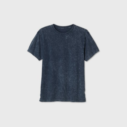 Men's Loose Fit Short Sleeve Crew Neck T-Shirt - Original Use™ Navy - image 1 of 1