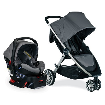 Britax B-Lively/B-Safe 35 Ultra Travel System - Gris