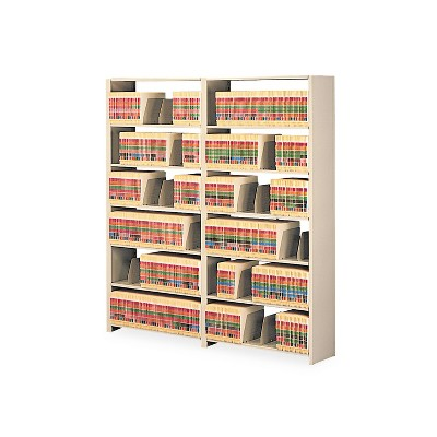 Tennsco Snap-Together Seven-Shelf Closed Add-On Unit Steel 48w x 12d x 88h Sand 128848ACSD