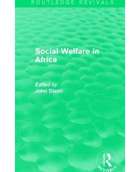 Social Welfare in Africa (Hardcover) - image 1 of 1