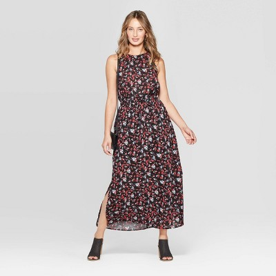 071ef0172b Women s Sleeveless Floral Print Maxi Dress - Universal Thread™