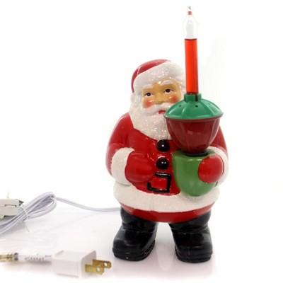 "Christmas 8.5"" Bubble Light Santa Retro Whimsical Electric  -  Decorative Figurines"