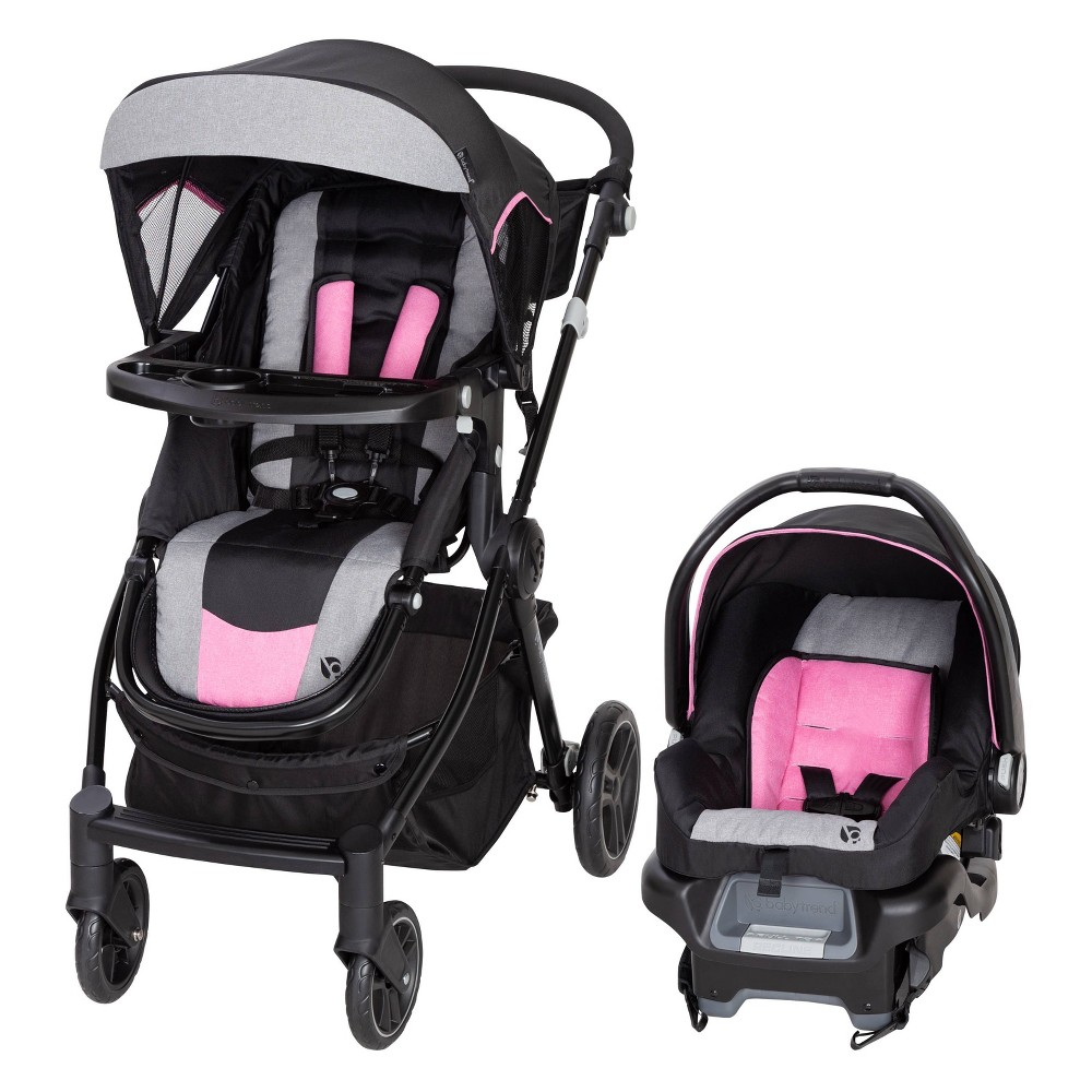 Image of Baby Trend City Clicker Pro Travel System - Soho Pink