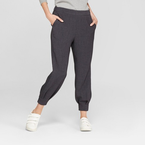 Women's Ankle Length Jogger Pants - Prologue™ Gray - image 1 of 3