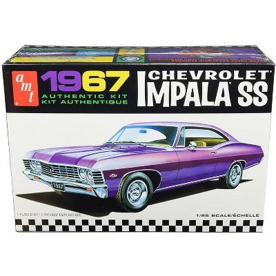 Skill 2 Model Kit 1967 Chevrolet Impala SS 1/25 Scale Model by AMT