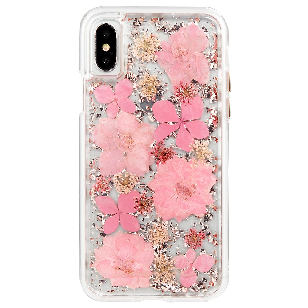 Case-Mate iPhone X Case Karat Petals - Pink The Case-Mate iPhone X Case by Karat Petals will captivate you with its beauty. The slim profile quickly slips in and out of pockets and keeps your phone safe for every incredible adventure. This case is truly one of a kind and will instantly brighten up your day! Color: Pink. Pattern: Floral.