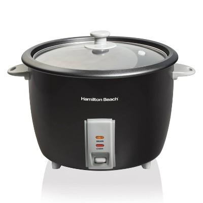 Hamilton Beach 30-Cup Rice Cooker - Black