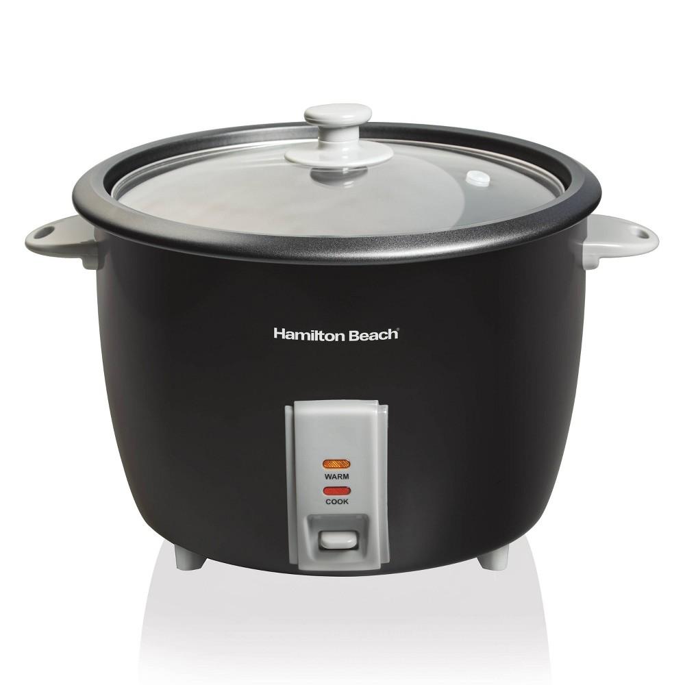 Hamilton Beach 30 Cup Rice Cooker Black