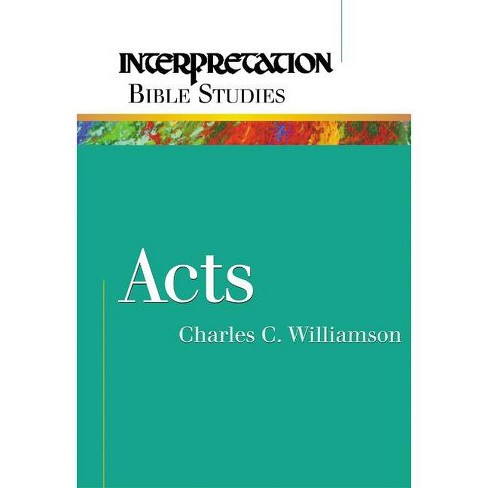 Acts - by  Charles C Williamson (Paperback) - image 1 of 1