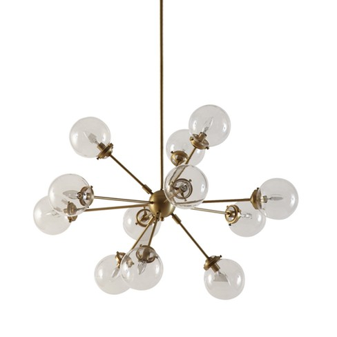 "Paige Chandelier Gold 39.5"" x 59.5"" - image 1 of 4"