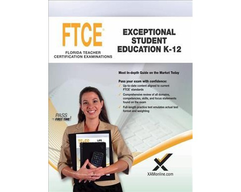 FTCE Exceptional Student Education K-12 : Teacher Certification Exam (Paperback) (Sharon A. Wynne) - image 1 of 1