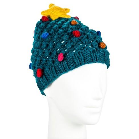 Women s Christmas Tree Hat - Manhattan Hat Co.   Target 197a44fa2a
