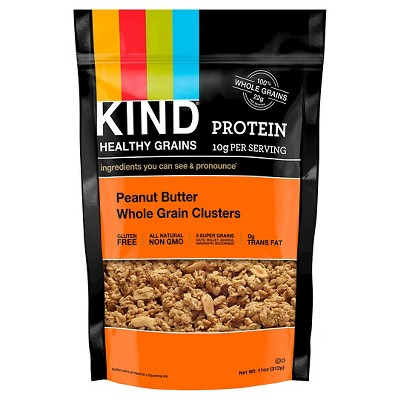 KIND Healthy Grains Protein Peanut Butter Whole Grain Clusters - 11oz