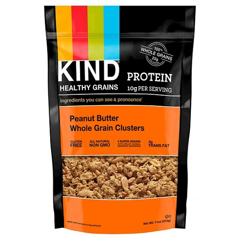 KIND Healthy Grains Protein Peanut Butter Whole Grain Clusters - 11oz - image 1 of 4