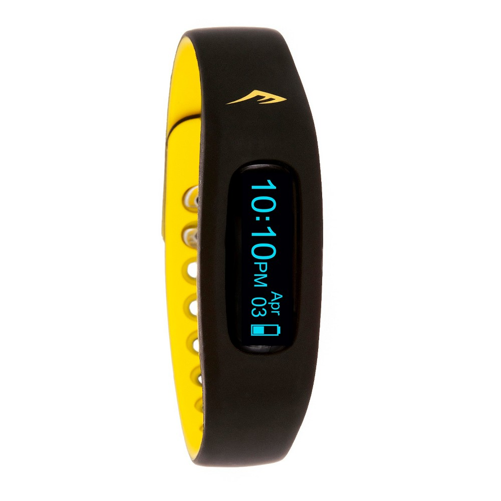 Image of Everlast Wireless Activity Tracker Watch Black, Yellow