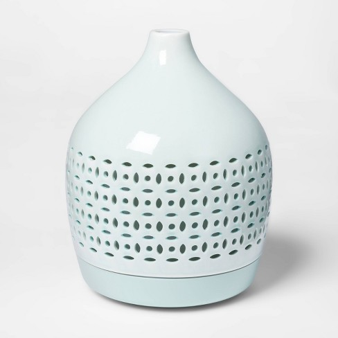 300ml Cutout Ceramic Color-Changing Oil Diffuser Aqua - Opalhouse™ - image 1 of 4