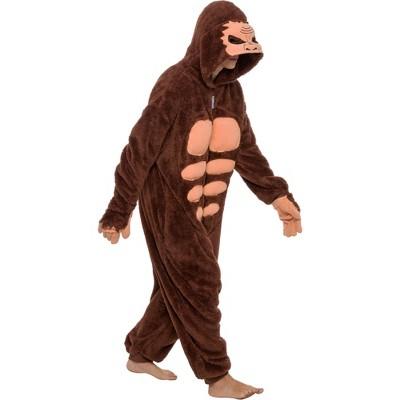 FUNZIEZ! Sasquatch Adult Unisex Novelty Union Suit