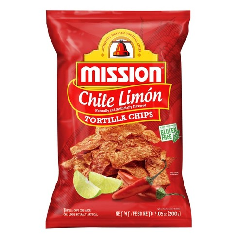 Mission Chile Limon Tortilla Chips - 7.05oz - image 1 of 2