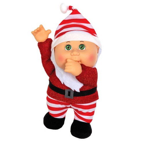 Cabbage Patch Kids Holiday Collectible Cutie Helpers   Chris Santa