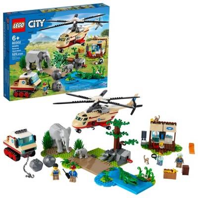 LEGO City Wildlife Rescue Operation 60302 Building Kit