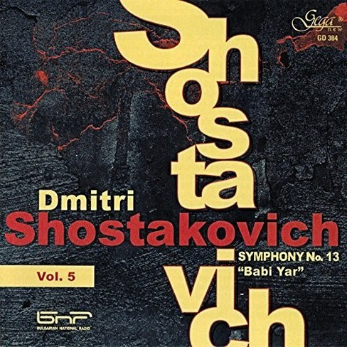 Various - Shostakovich:Sym No 13 Babi Yar (CD) - image 1 of 1