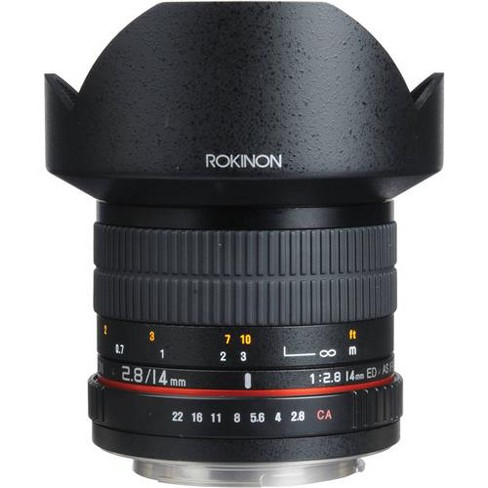 Rokinon 14mm f/2.8 IF ED MC Super Wide Angle, Manual Focus Lens for Pentax - image 1 of 4