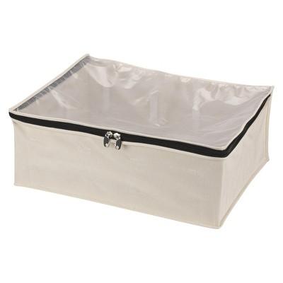 Household Essentials® Cedarline Cotton Canvas Blanket Bag