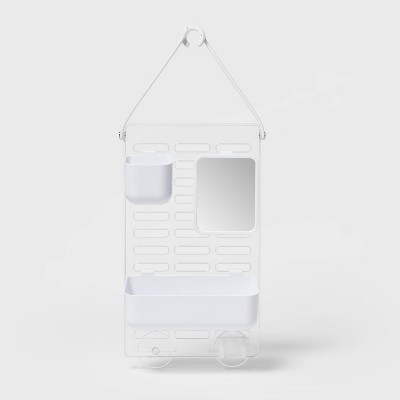 Adjustable Shower Caddy White - Room Essentials™