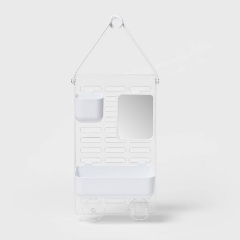 Adjustable Shower Caddy White - Room Essentials™ - image 1 of 3