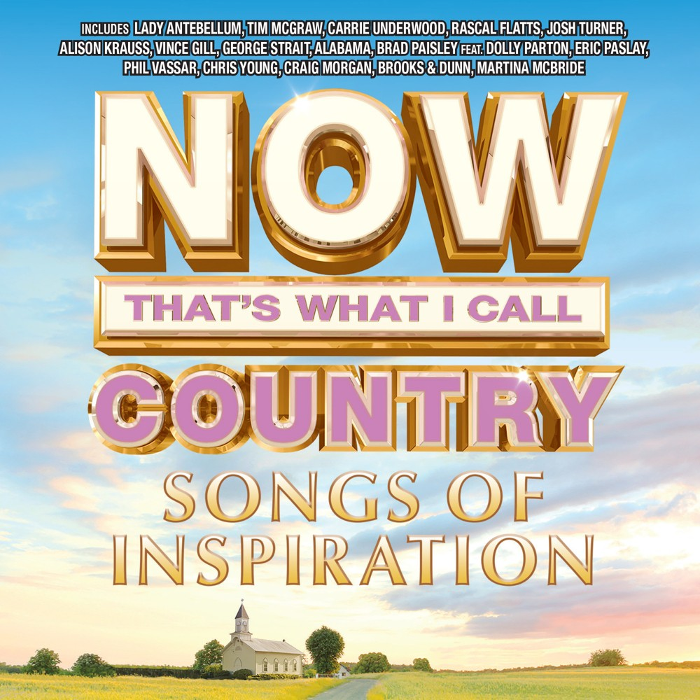 Various Artists Now Country Songs Of Inspiration Cd