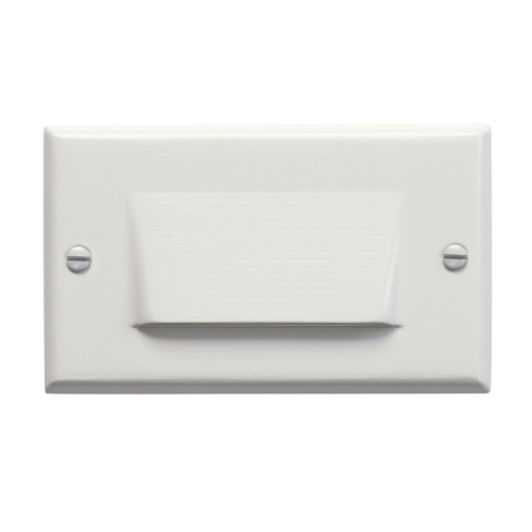 """Kichler 12602 Step and Hall 4-1/2"""" Wide Horizontal Shielded Indoor Step Light - image 1 of 1"""