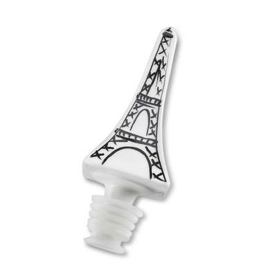 4ct Eiffel Tower Ceramic Bottle Stopper