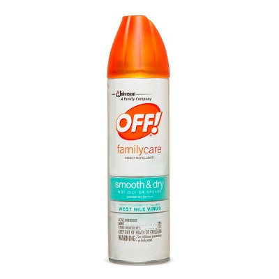 OFF! FamilyCare Insect Repellent I, Smooth & Dry, 4oz