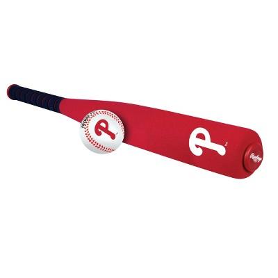 MLB Philadelphia Phillies Rawlings Foam Bat and Ball Set