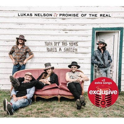 Lukas Nelson & Promise of the Real - Turn Off the News (Build a Garden) (Target Exclusive) (CD)