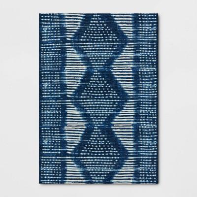 7' x 10' Outdoor Rug Indigo Dye - Threshold™