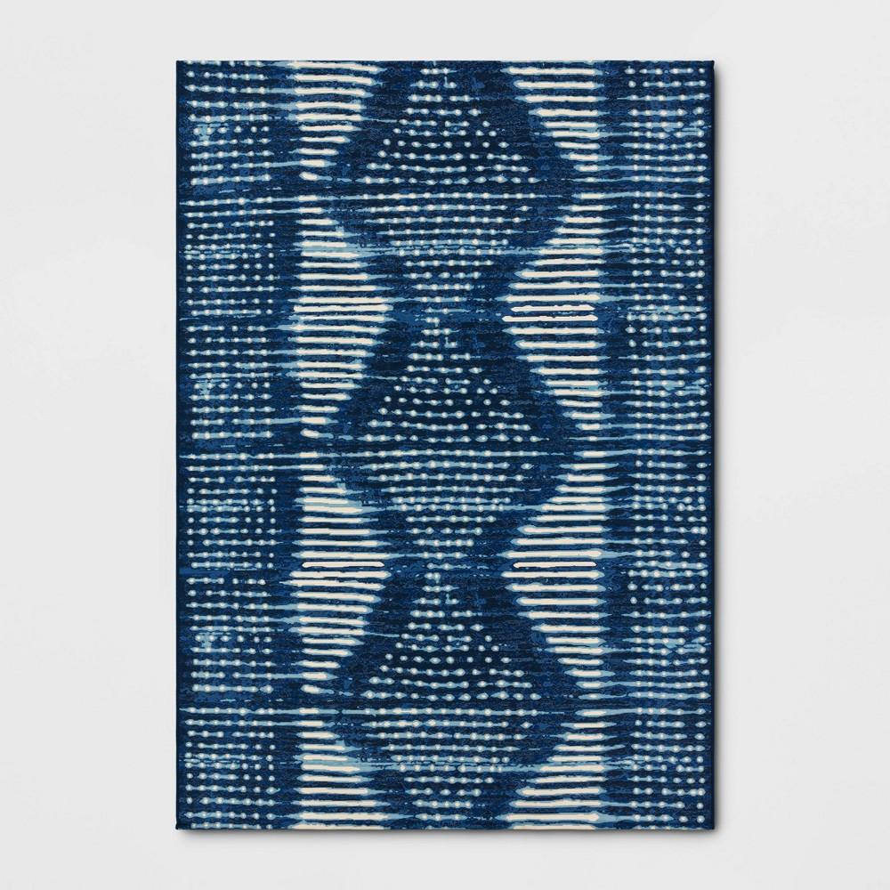 Cheap 7' x 10' Outdoor Rug Indigo Dye - Threshold™