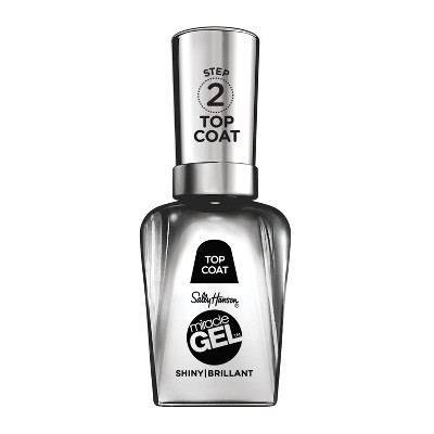 Sally Hansen Miracle Gel Nail Polish - 101 Shiny Top Coat - 0.5 fl oz