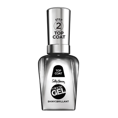 Sally Hansen Miracle Gel Nail Polish - 101 Shiny Top Coat - 0.5 fl oz - image 1 of 3