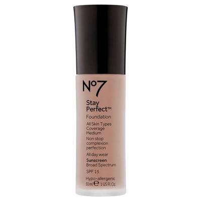 No7 Stay Perfect Foundation SPF 15 - 1oz