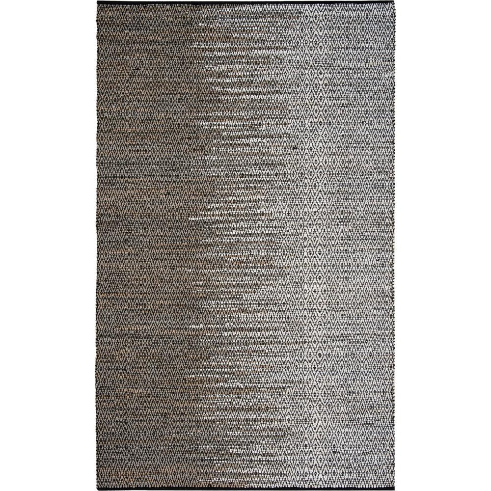 5'X8' Geometric Woven Area Rug Gray - Safavieh