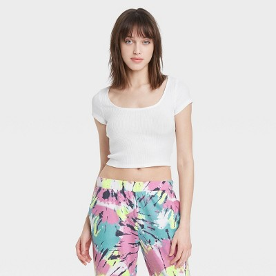 Women's Lounge Cropped T-Shirt - Colsie™