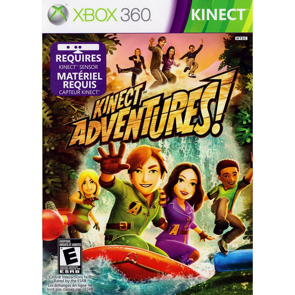 Kinect Adventures Pre-Owned Xbox 360