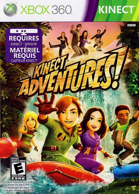 Kinect Adventures PRE-OWNED Xbox 360 - image 1 of 1