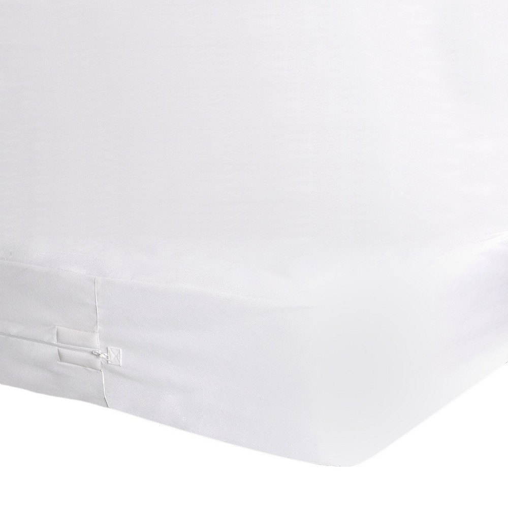 Image of Buglock Bed Bug Proof Mattress Encasement White (King) - PROTECT-A-BED