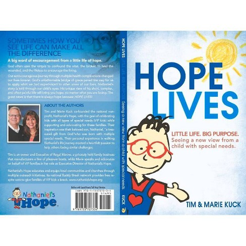 Hope Lives - by  Marie Kuck & Tim Kuck (Paperback) - image 1 of 1