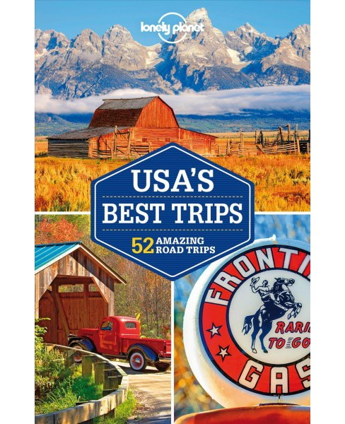 Best Road Trip Usa Map.Lonely Planet Usa S Best Trips 51 Amazing Road Trips 3 Pap Map
