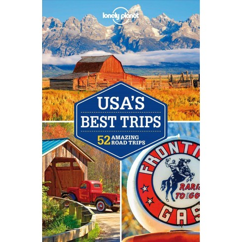 Lonely Planet Usa S Best Trips 51 Amazing Road Trips 3 Pap Map